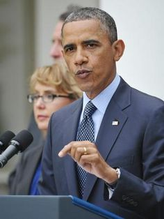 Obama was firm in his speech on the defeat of the draft arms control in the Senate Photo: AFP