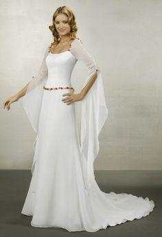Vestido de novia medieval :: Virtual Novia Book