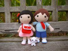 Sweet Couple Crochet | Snacksies Handicraft Corner