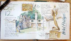 Resultado de imagen de art journal watercolor