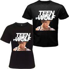 Teen Wolf 2011 TV Series Tyler Posey Black T-shirt