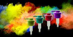 Colour Matching Lotion Pumps #colour #packaging