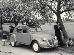 The reliable 2cv by Citroen