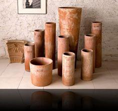 Italian terra cotta pots   Garden pots terracotta   Poggi Ugo