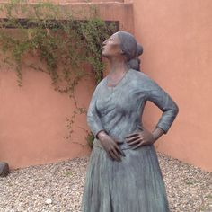 Gorman sculpture garden in Taos-- so peaceful