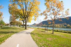 Take a bike ride or stroll around Lake Park. The crisp autumn air and the sight of bright colored leaves will make any a little brighter.