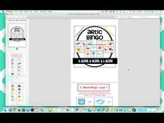 Product Preview - Artic Bingo - YouTube