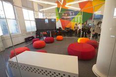 The new Teen Center @ Hamilton Grange Library