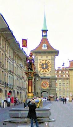 Swiss Travel, Picture Places, Globe Travel, Chula, Travel Plan, Bern, City Streets, Old Houses, Wonders Of The World