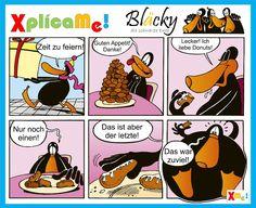 Hoy les queremos presentar a nuestro nuevo compañero. A partir de ahora, Bläcky, el patito negro y sus aventuras nos van a acompañar en nuestro viaje a través del aprendizaje de la lengua alemana cotidiana. www.facebook.com/xplicame