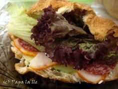 Holiday sandwich... | Papa la Ile