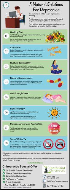 8 Natural Solutions For Depression goldcoastchiropractor.com