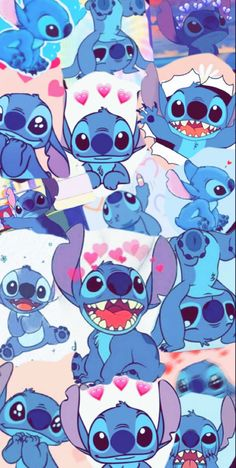 Gold Glitter Wallpaper Iphone, Disney Phone Wallpaper, Cartoon Wallpaper Iphone, Cute Cartoon Wallpapers, Animes Wallpapers, Disney Collage, Disney Art, Lelo And Stitch, Lilo And Stitch Quotes
