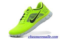 huge discount 900bb 5fe19 Vendre Pas Cher Chaussures Nike Free Run 3 Homme H0005 En Ligne Dans  Chaussuressalle.com