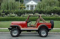 Jeep : Cj Cj7 1986 Jeep Cj7 Laredo For Sale $0.00