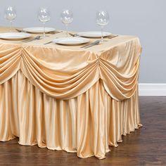 Cubierta llana Poliéster Mantel Fiesta de Comedor de evento de boda Banquete aniversario