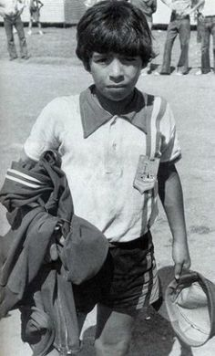 young Maradona - they called him a martian he was that good!