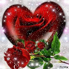 10 Beautiful Heart Animations And Images Beautiful Heart Images, Love Heart Gif, Love You Gif, Beautiful Love Pictures, Love You Images, Beautiful Roses, Blue Roses Wallpaper, Heart Wallpaper, Love Wallpaper