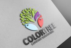 Color Tree Logo @creativework247