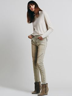 Free People Lone Ranger Relaxed Skinny at Free People Clothing Boutique