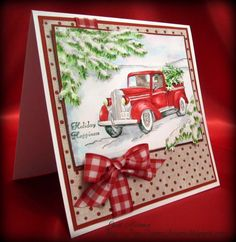 F4A303 Christmas Vacation by GailNM - Cards and Paper Crafts at Splitcoaststampers