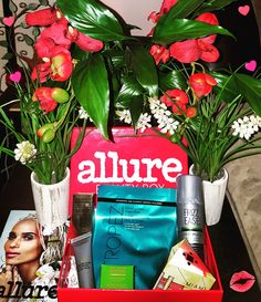 One of my favorite boxes from #AllureBeautyBox ... This was #June2017 ... Love love love #viewmyworld321