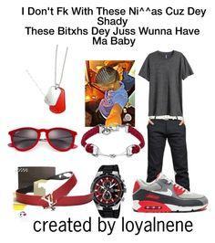 """Bye ! ✊✌"" by loyalnene ❤ liked on Polyvore featuring moda, Gucci, Casio, NIKE, black, red, grey, boys y men"