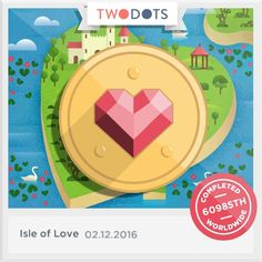 Two dots isle of love !