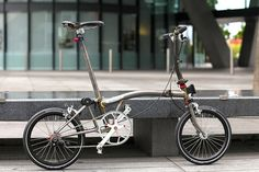 Raw Steel lightweight S Type Brompton