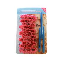 12 unids 45 cm Plástico Rizador de Pelo Rodillo de Pelo Magia DIY Estilismo Herramientas Espiral Rizador de Pelo de Moda Cuidado de la Belleza rodillos(China (Mainland))