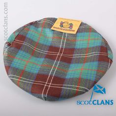 Chisholm Hunting Tartan Cap. Free worldwide shipping available.