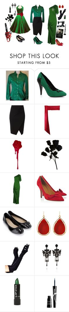 """""""Kanaya Maryam-Homestuck"""" by conquistadorofsorts ❤ liked on Polyvore featuring Banana Republic, Ellie, Jean-Paul Gaultier, Laura Lee, Isabel Marant, Accessorize, Barse, Dollhouse, NARS Cosmetics and River Island"""