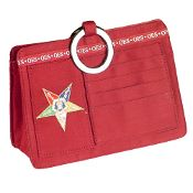 Soror Handbag Purse Organizer for Order of the Eastern Star
