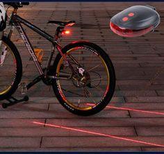 НОВЫЙ безопасности Велоспорт велосипед свет Седло фонарик заднего сиденья велосипеда лампы цикла лазера 7 Режимы Водонепроницаемый Внимание светодиодные задние свет