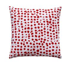 Red Polka Dot Pillow Cover, Christmas Decorative Pillow, Red Accent Pillow New designs are in💕🍾🥂👛👑 Shop—>Red Polka Dot Pillow Cover, Christmas Decorative Pillow, Red Accent . Red Decorative Pillows, Red Pillows, Down Pillows, Accent Pillows, Christmas Pillow Covers, Christmas Cover, Vermilion Color, Pebble Color, Red Accents