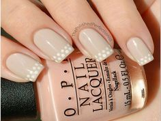 Dotted French Nail Art The Polish Perfectionist lives up to her name with this ultra-feminine manicure that works for day and night. We envision it with a black-and-white blouse or lacy dress.