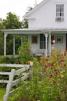 wildflower garden - looks like the farmhouse, @Shirley Vitale Westmoreland - better hop to it! : )