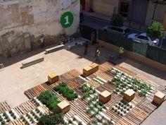 Zaragoza, Spain  estonoesunsolar  Intervenciones efimeras para espacios públicos de uso transitorio en solares del Casco Histórico de Zaragoza.