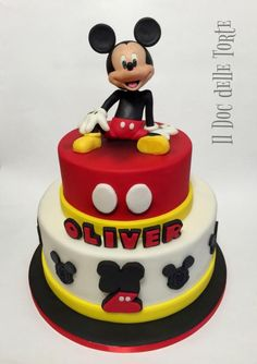 Mickey Mouse cake - Cake by Davide Minetti