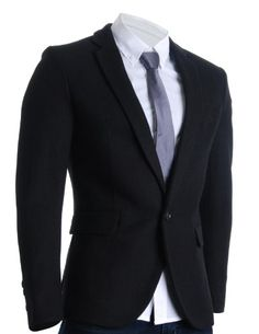 FLATSEVEN Mens Slim Casual Winter Wool Blends Blazer Jacket (BJ106) Black, Boys XL FLATSEVEN http://www.amazon.com/dp/B00A4TLQKK/ref=cm_sw_r_pi_dp_DoB2ub1YE9N17 #FLATSEVEN #Men #Slim #Casual #Winter #Wool Blends #Blazer #Jacket #Fashion