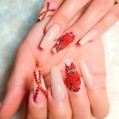 Nude Nail Designs for Long Nails picture 2