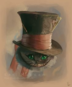 Tim Burton's Cheshire Cat by ~Miss-Madd on deviantART