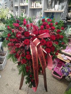 Casket Flowers, Grave Flowers, Church Flowers, Funeral Flowers, Funeral Floral Arrangements, Creative Flower Arrangements, Flower Shop Design, Funeral Sprays, Memorial Flowers