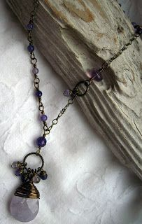 Sweet Nothings Jewelry - Victorian Whimsy Lavender