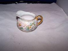 Vintage P & P  LIMOGES Creamer floral design by vintagebyrudi, $9.99