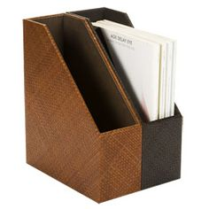 The Container Store > Pandan Magazine File Home Office Storage, Desk Storage, Office Organization, Nurse Clipboard, Magazine Files, Custom Closets, Container Store, Projects, Desktop
