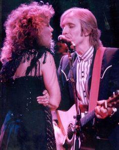 Stevie Nicks & Tom Petty,1982