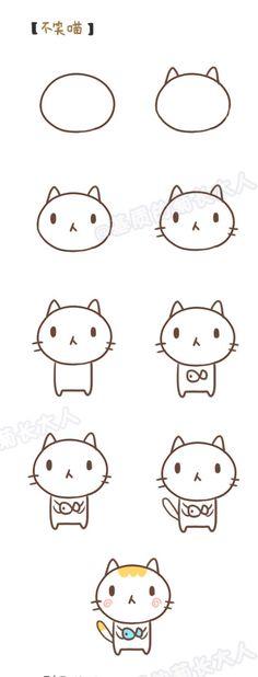来来来,让我们跟随@基质的菊长大人的分享,来学习下如何快速画萌哒哒的小动物。很可爱很优质的简笔画教程素材,手帐手绘达人必GET的技能。