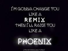 Band Music Lyrics Fall Out Boy The Phoenix - Wattpad