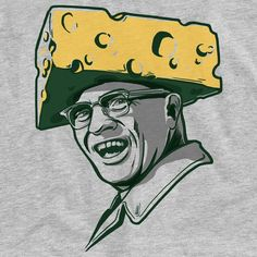 They don't put just anybody's name on the Super Bowl trophy. Coach Cheesehead Vince Lombardi was, and always will be, the greatest. Packers Football, Football Memes, Football Coaches, Football Stuff, Green Bay Packers Fans, Vince Lombardi, Go Pack Go, Turtle Painting, Pumpkin Art